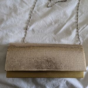 Gold party purse